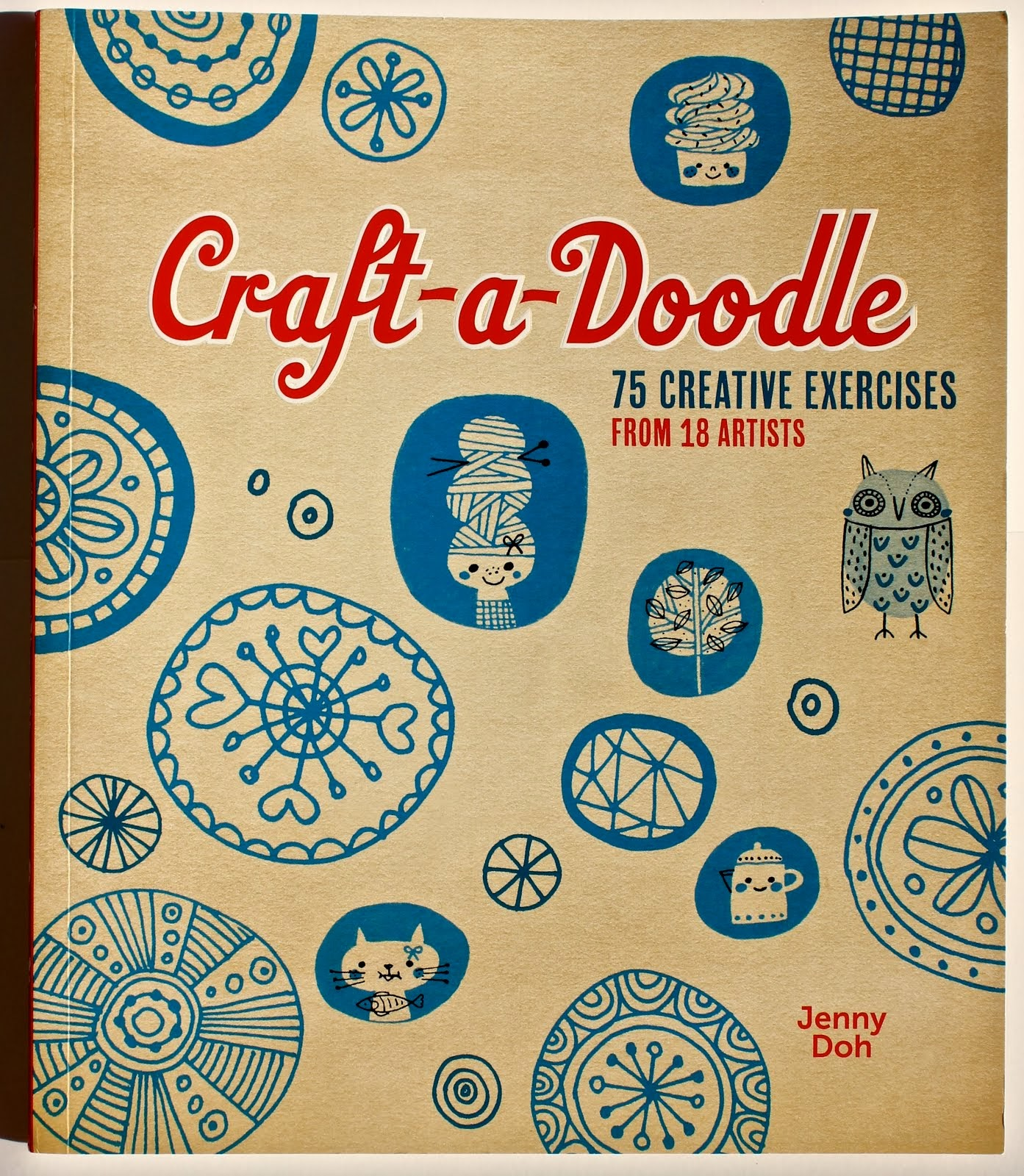 CONTRIBUTING ARTIST IN CRAFT-A-DOODLE, by JENNY DOH, AUGUST 2013