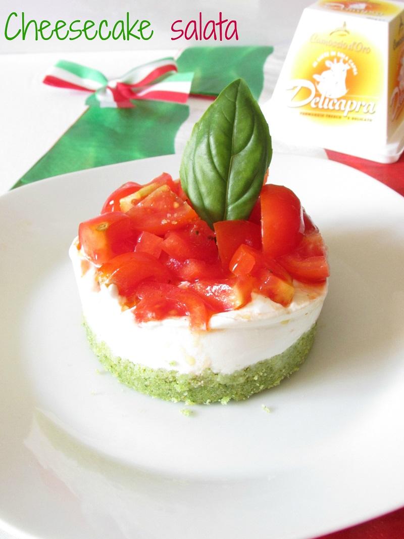 cheesecake tricolore... forza italia!