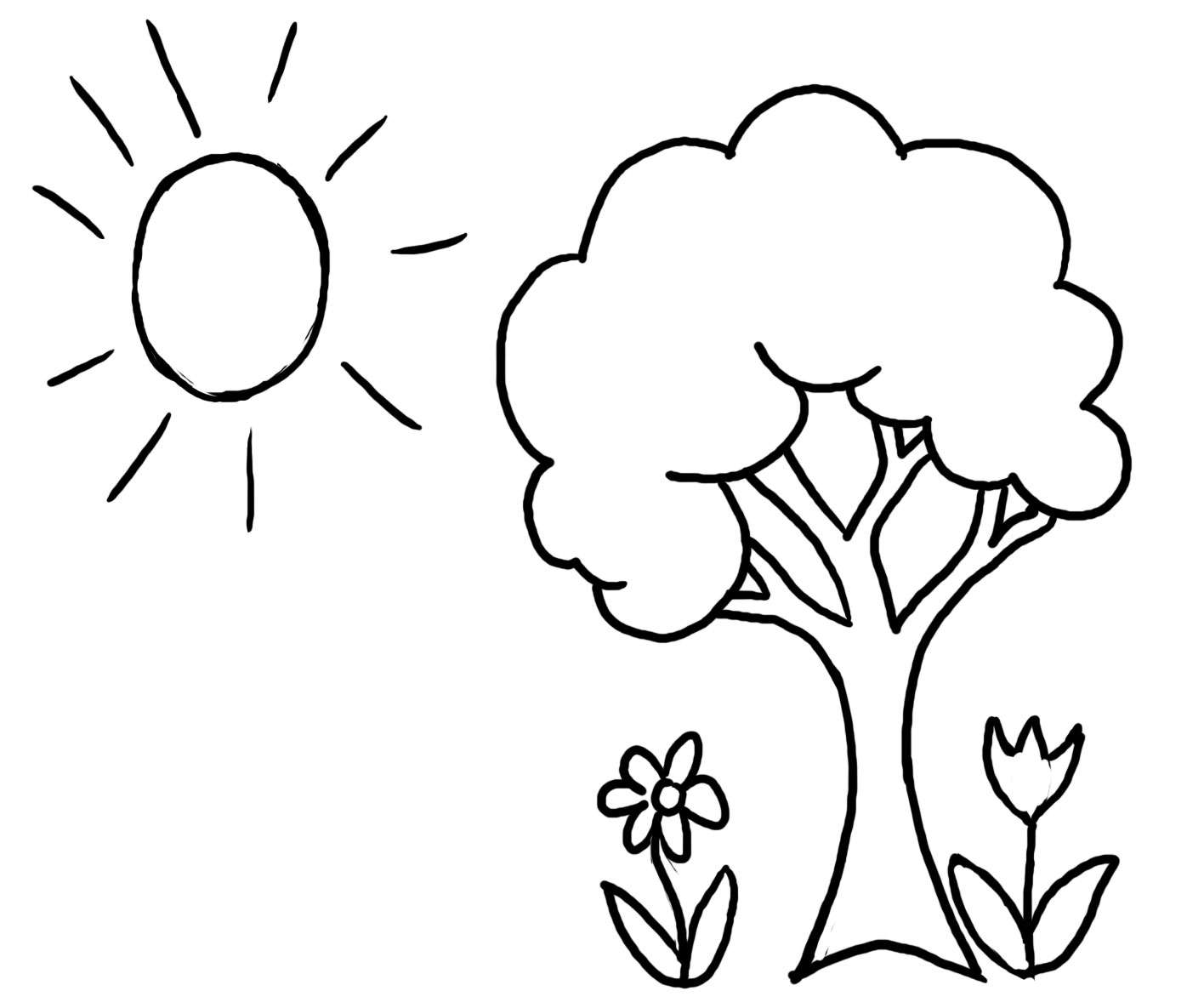 free student plant coloring pages - photo#6