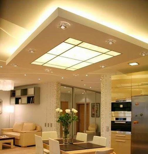 Desain Plafon Minimalis Untuk Ruang Tamu