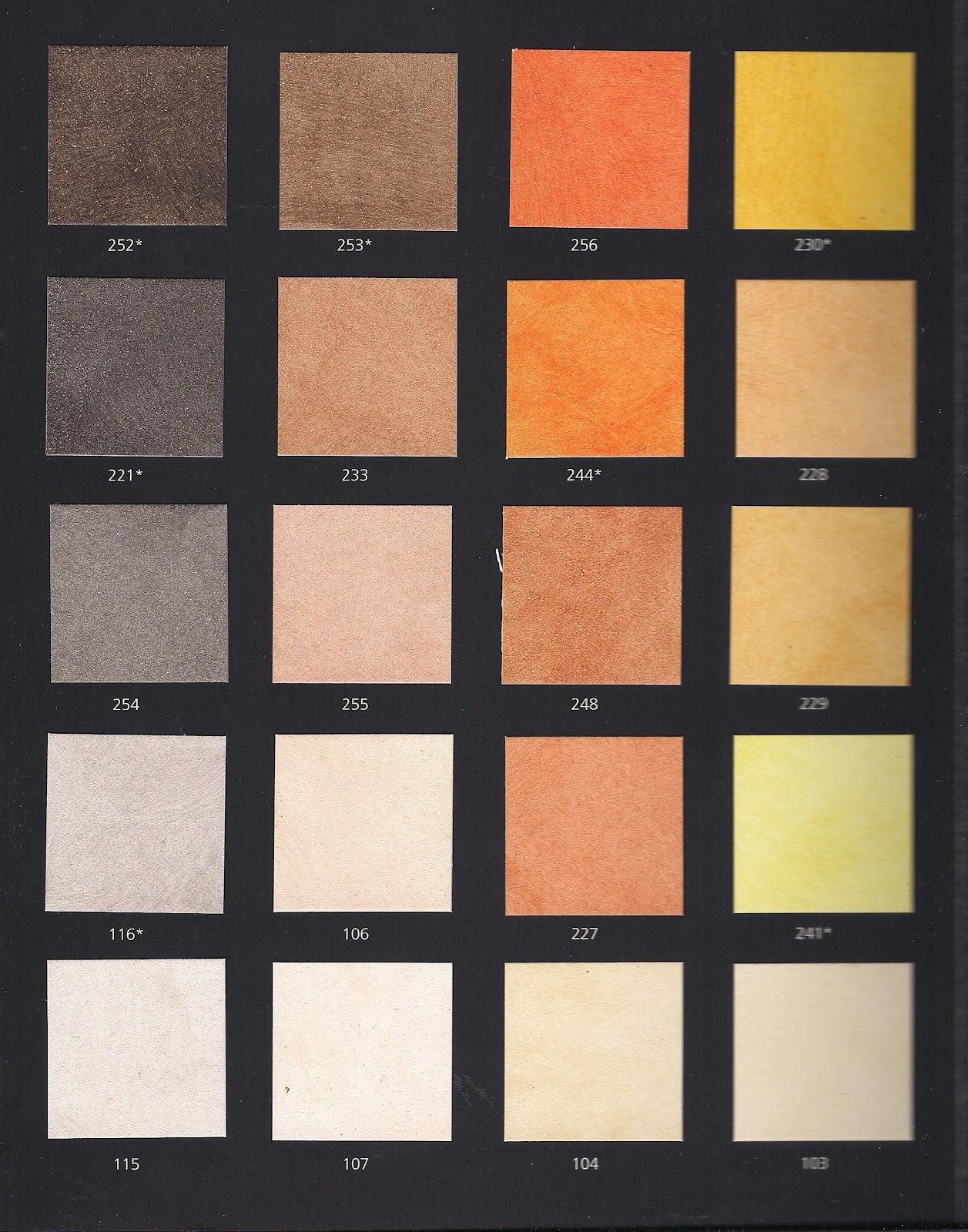 Pitture decorazioni cartelle colori - Boero colori ...