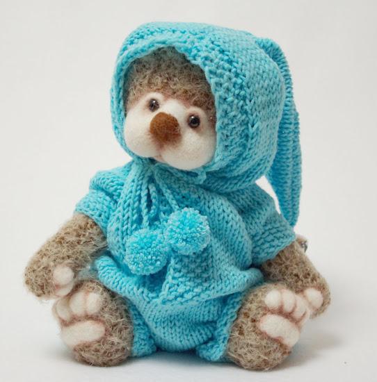 мишка тедди, медведь, авторские игрушки,  игрушки ручной работы, старое фото