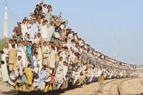 kereta api unik
