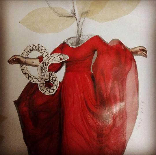 """""""Lamentación de Eva"""" (Poema de autor anónimo - siglo X/XI - original en ingles)"""