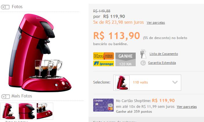 www.shoptime.com.br/produto/110360867/cafeteira-expresso-senseo-hd7811-96-vermelha-1-6-bars?opn=GOOGLEXML&franq=AFL-03-117316