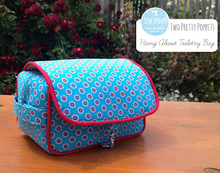 Two Pretty Poppets: Hang About Toiletry Bag
