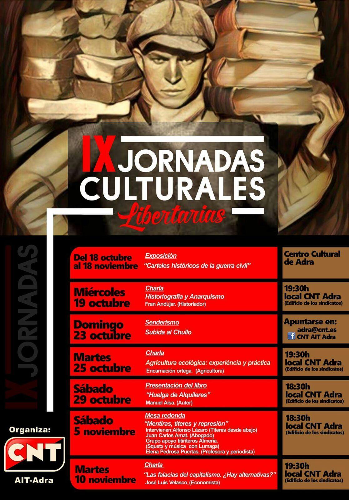 IX Jornadas Libertarias CNT Adra