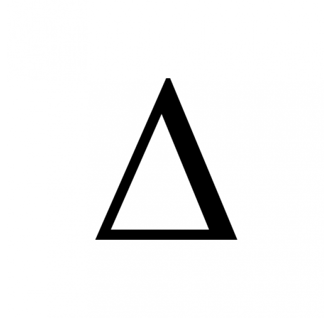 Images Of Delta Symbol In Word Spacehero