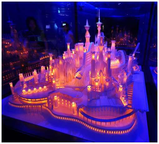 The amazing things the amazing paper craft castle on the for Cool paper projects