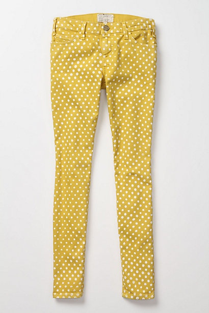 have you already crushed for an item that you think is very unusual full of personality and unique like let say yellow polka dot pants - Bambou Color