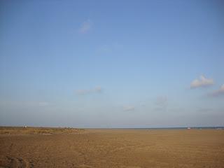 El Serrallo beach landscape - Tarragona