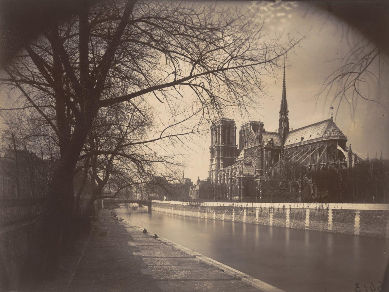 Atget, Notre-Dame de Paris, 1923