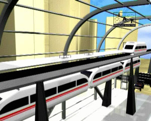 IAT Maglev Stacked monorail