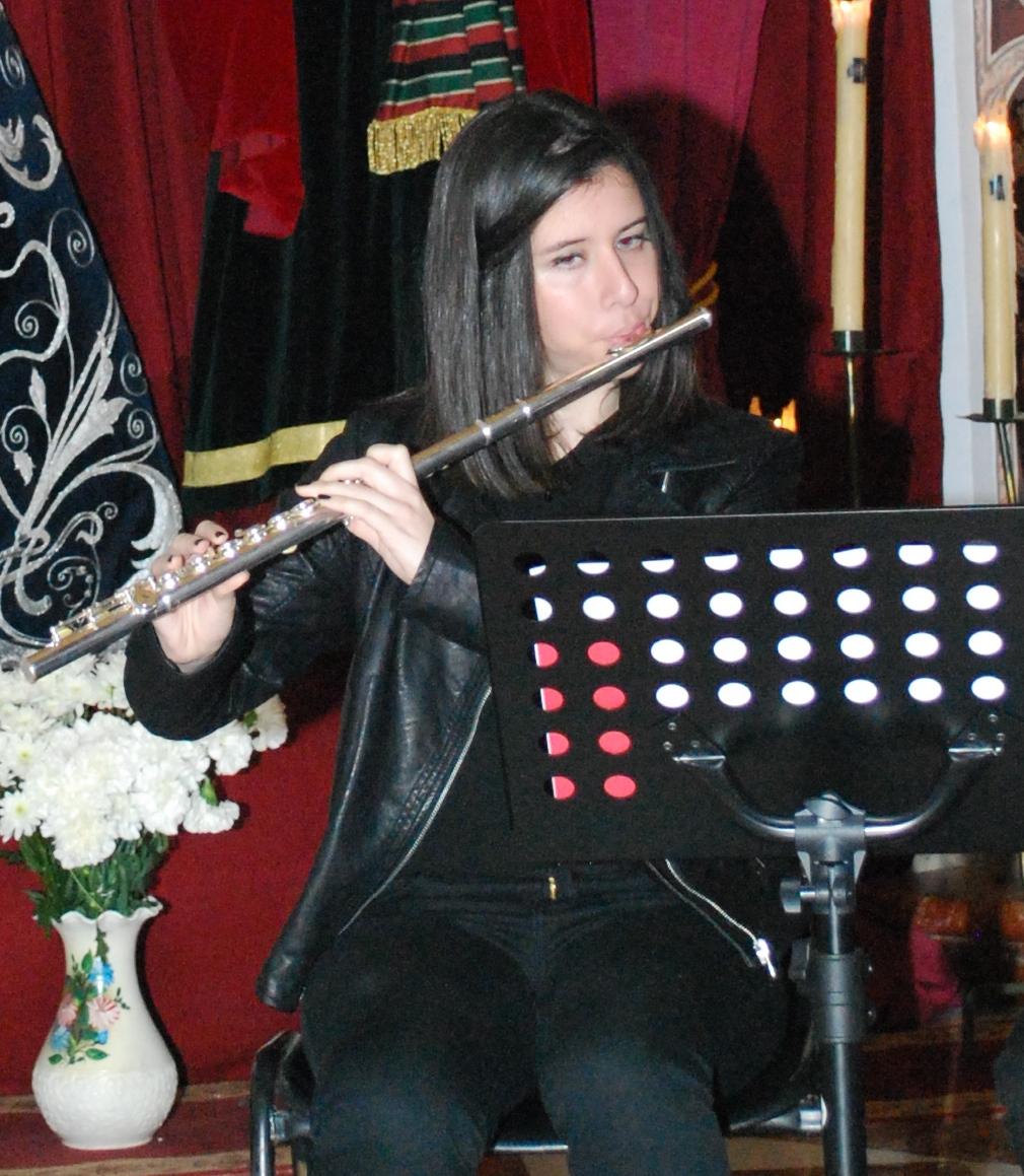Ana Márquez, Flauta