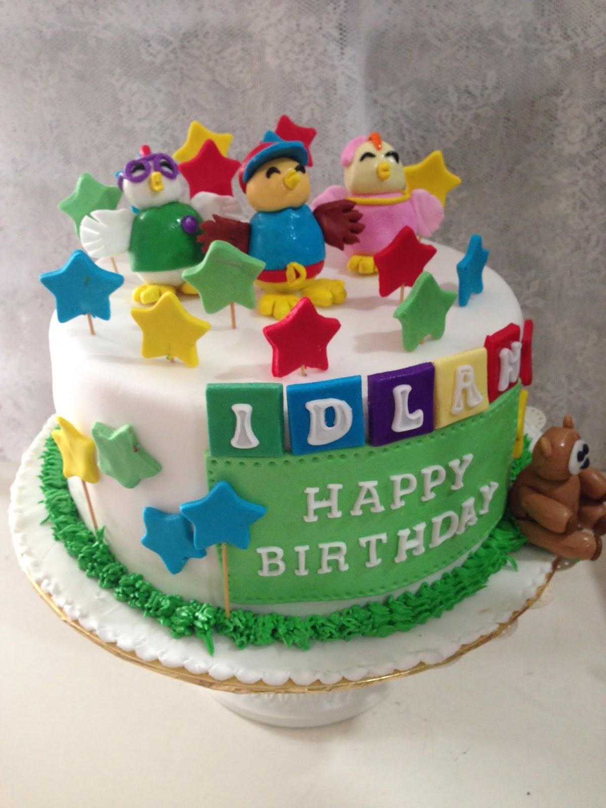 ninie cakes house: Didi and Friends Fondant Cake