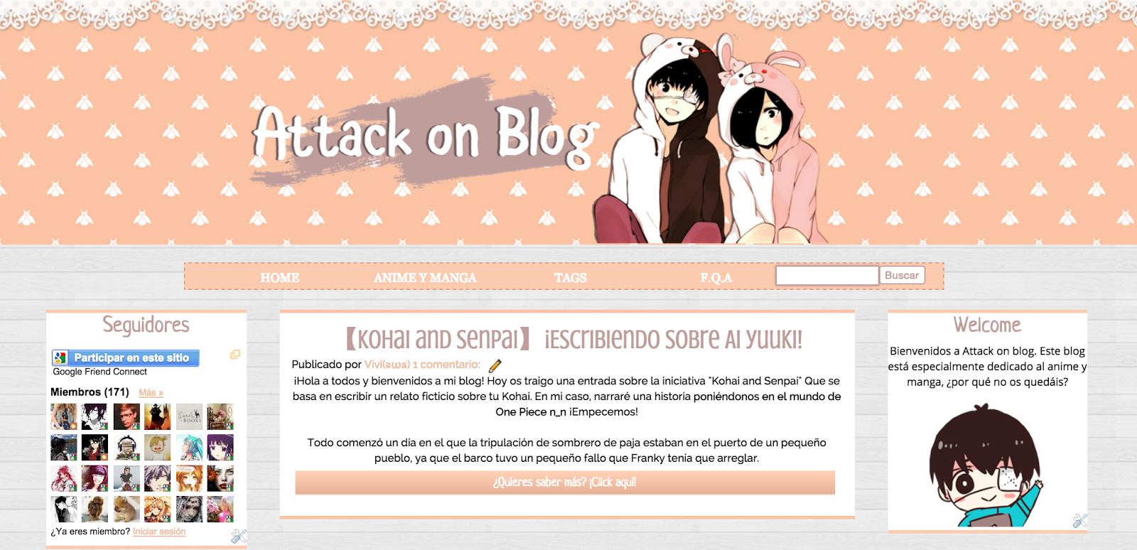 Plantillas】¡Nueva plantilla para el blog!