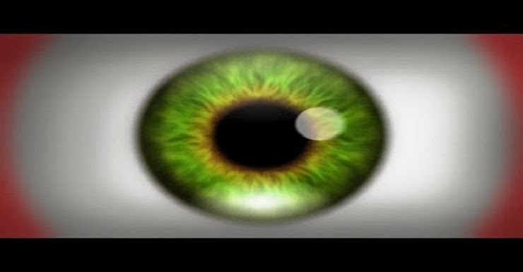 Eye - Optical Illusion That Causes Natural Hallucination