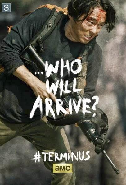 "Poster de Glenn para el final de la cuarta temporada  ""The Walking Dead"""