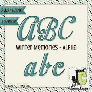 Winter Memories Kit, Freebie & A Winner!