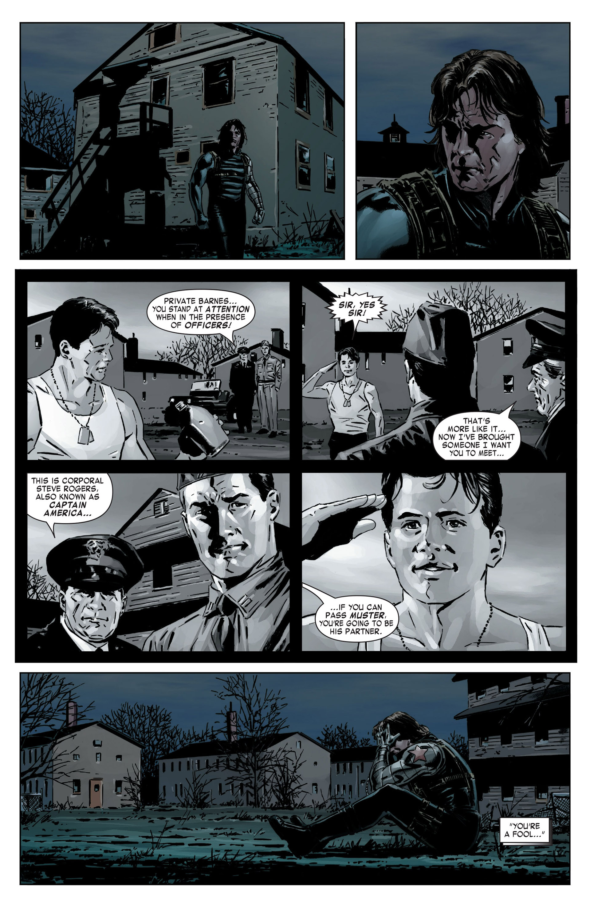 Captain America (2005) Issue #14 #14 - English 22