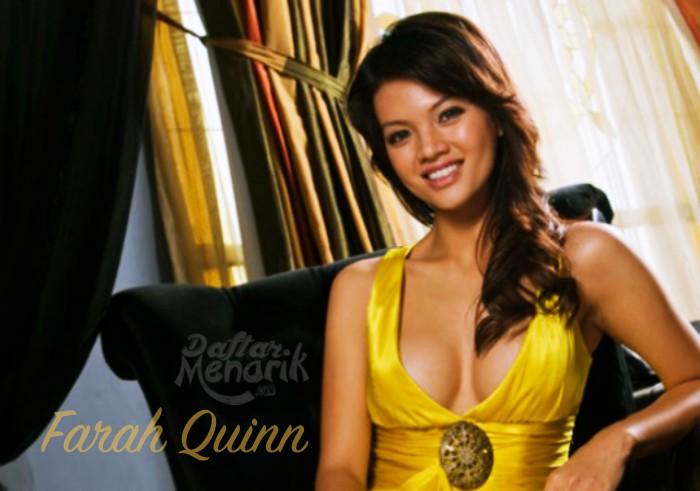 Farah Quinn Artis Indonesia yang Memiliki Ukuran Bra Paling Besar