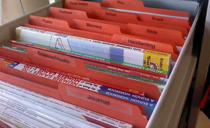 ORGANIZE YOUR TEACHER RESOURCES {CFC Project 2013} | Clutter-Free ...
