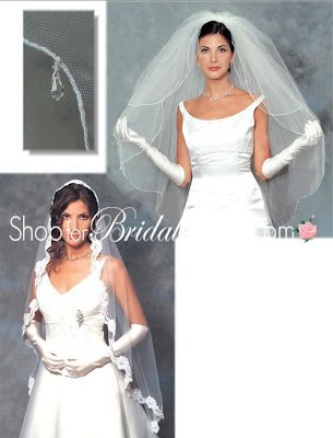 Discount Bridal Prices: Ansonia Bridal Veils~~381S~~$118.00~~COUPONS~