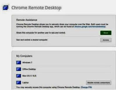 programma di gestione computer da remoto con smartphone android
