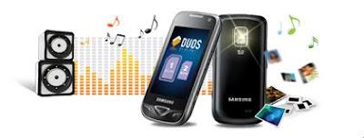 Samsung Dual sim mobile B7722