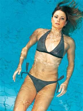 Top 10 Sexiest Women Swimmers Alive 2012 Flavia Delaroli