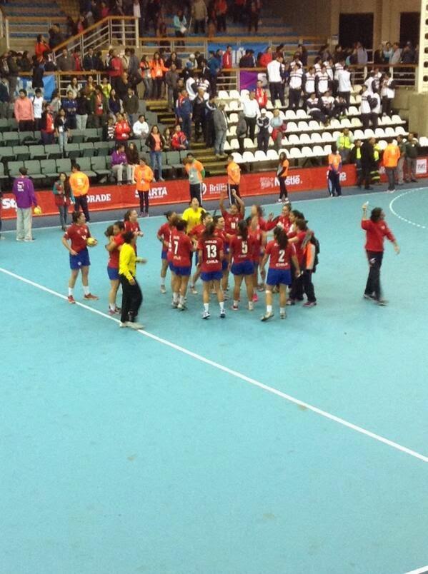 Paliza de Chile a Paraguay | Mundo Handball