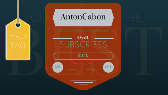 Subscribe Box Via Email