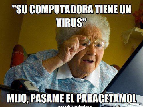 Su computadora tiene un virus