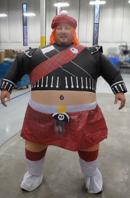 GotPrint employee wearing Halloween costume 2013