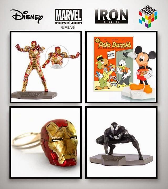 Estatuetas Exclusivas Iron Studios Comic Con Experience