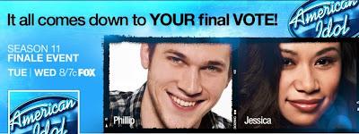 American Idol 2012 Season 11 Jessica Sanchez Phillip Phillips
