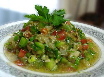 Lebanese Eggplant Salad – (Salatit El Batinjan) Recipe