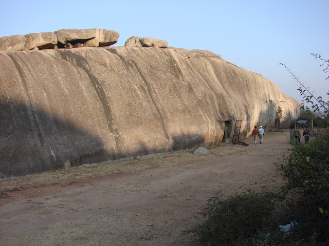 The three Barabar caves are called Sudhama, Karna and Lomasrishi caves.