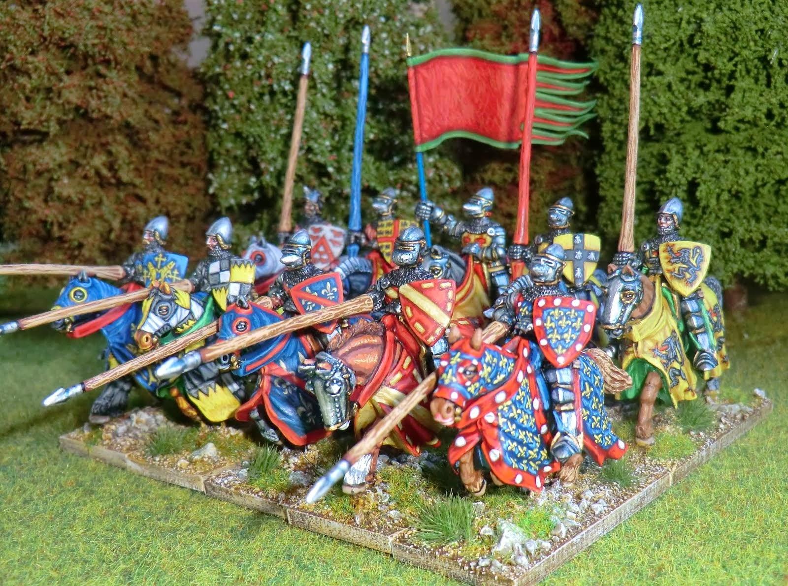 French HYW knights