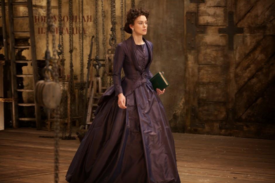 Keira Knightley, como Ana Karenina.
