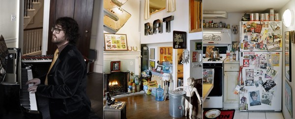 Celebrity Home Photographs by Douglas Friedman: Sean Lennon Home 2