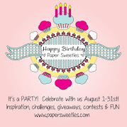 Happy 4th Birthday Paper Sweeties!!!!