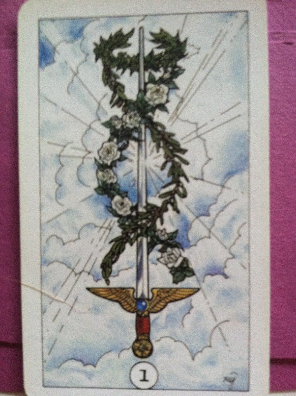 Robin wood tarot turtlephoenix robin woods ace of swords is like all her cards rich with symbolism what stands out to me is the location of the swordinstead of planted biocorpaavc Gallery