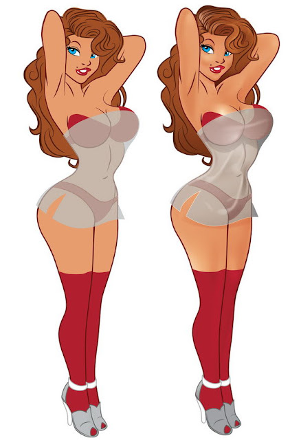 Vector Pin Up