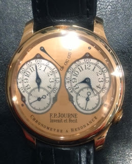 Montre F.P. Journe Chronomètre à Résonance Dual Time