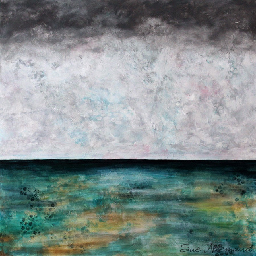 Winter Over Water by Sue Allemand 2015