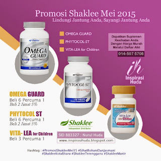 Omega Guard, Phytocol-ST dan Vita-Lea for Children