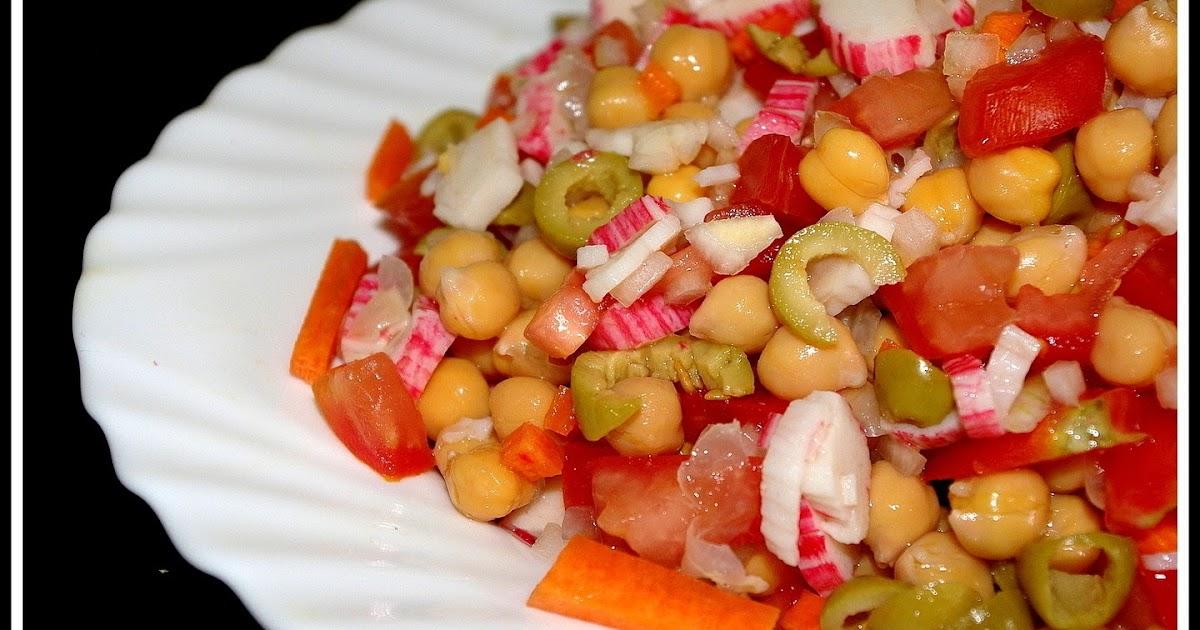Ensalada de garbanzos recetas de una gatita enamorada - Ensalada de garbanzos light ...