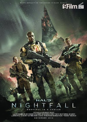 Halo: Nightfall 2015 poster