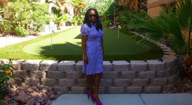 Thrifted Diane von Furstenberg Shirtdress